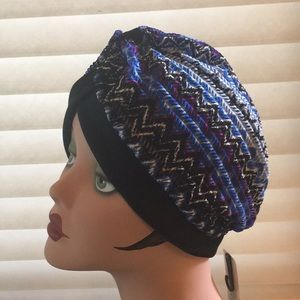 Accessories - Geometric Turban